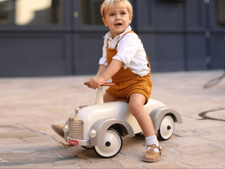 The Baghera Pedal Vehicle - Fun for small and big race drivers