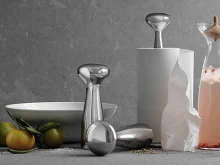 Georg Jensen - Alfredo paper towel holder and salt and pepper grinder