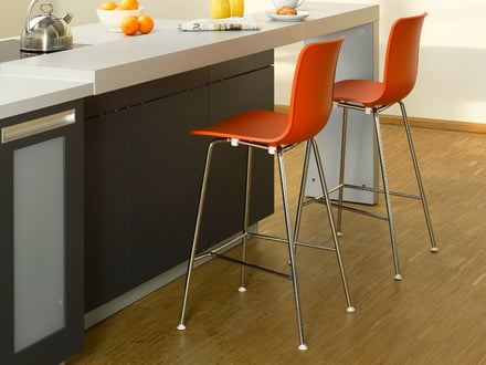 Modern bar stool Hal by Vitra