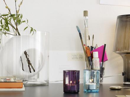 Muuto - Four flower vase, opal white