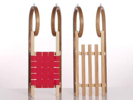 Wooden Sirch sledges