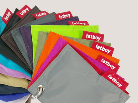 Fatboy - textile and colour samples, nylon