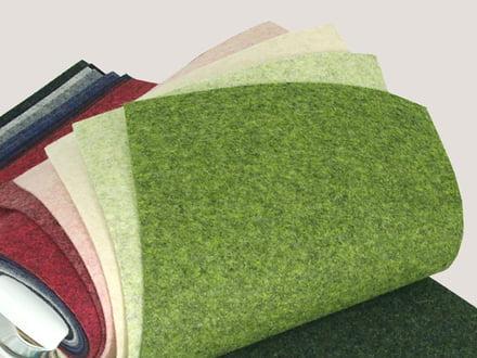Kvadrat textile samples
