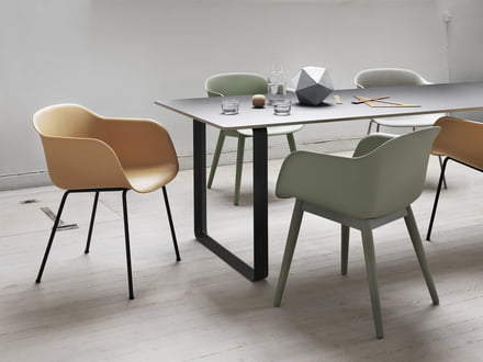 fiber furniture. The Fiber Chair By Muuto - Maximum Comfort, Minimum Space Requirements Furniture E