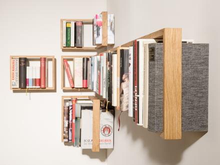 The floating wall shelf by das kleine b