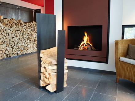 Wood storage with artepuro
