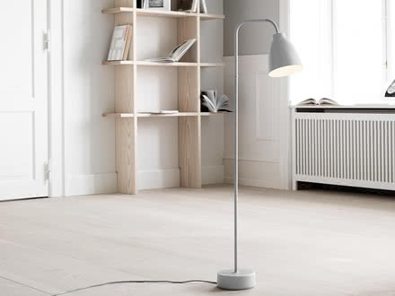 Floor lamps flexible lighting of strong character
