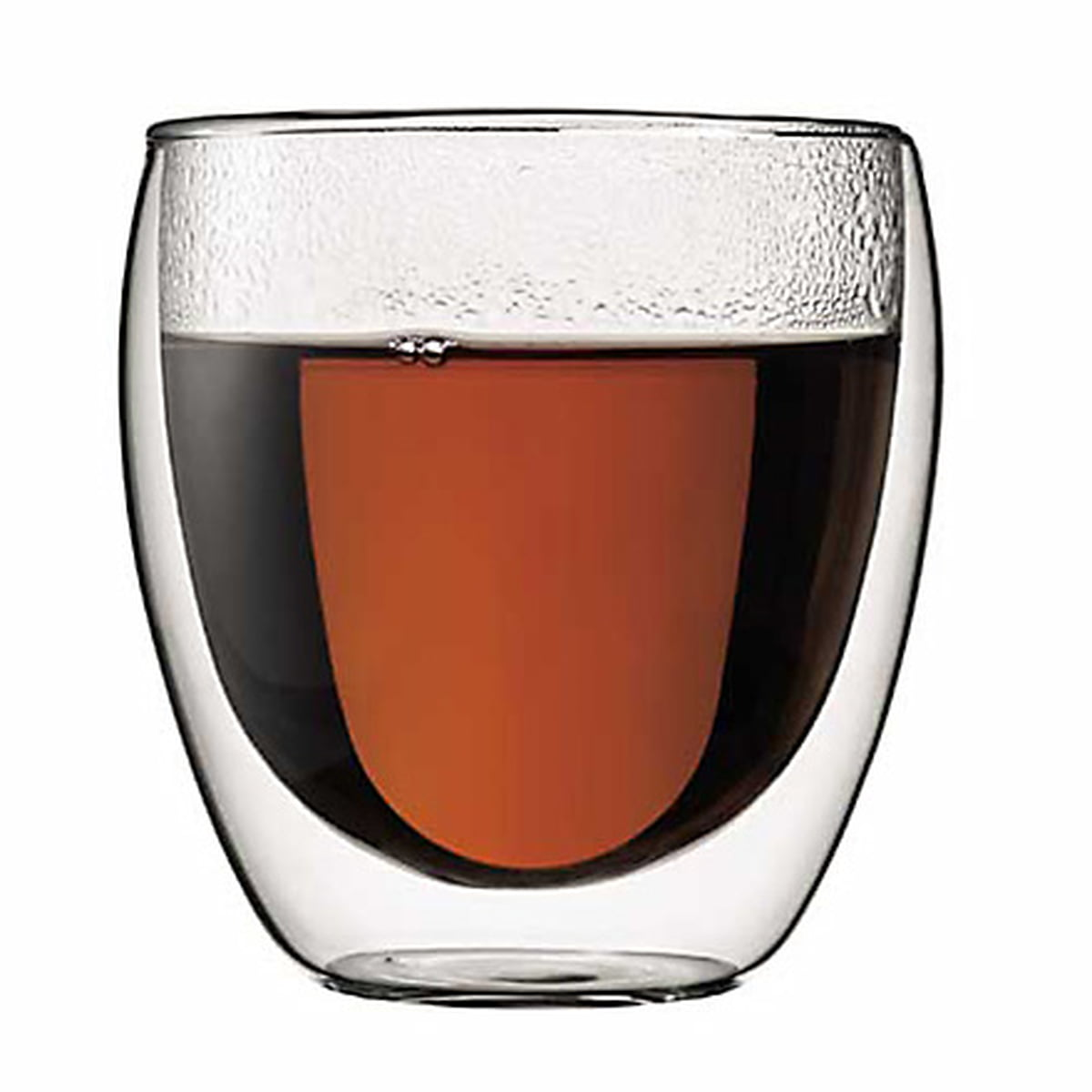 double walled glasses the walled pavina glass by bodum 10769