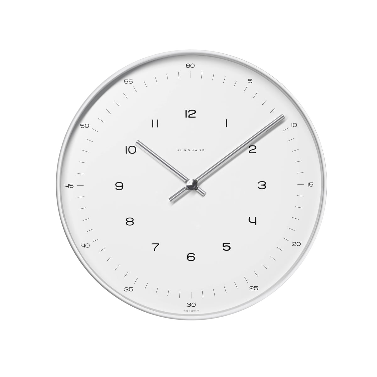 Max Bill Wall Clocks Numbers By Junghans