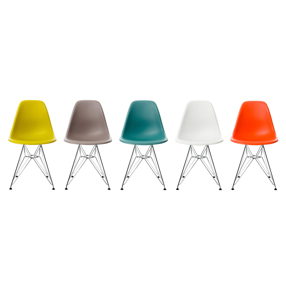vitra dsr eames plastic side chair in our shop. Black Bedroom Furniture Sets. Home Design Ideas
