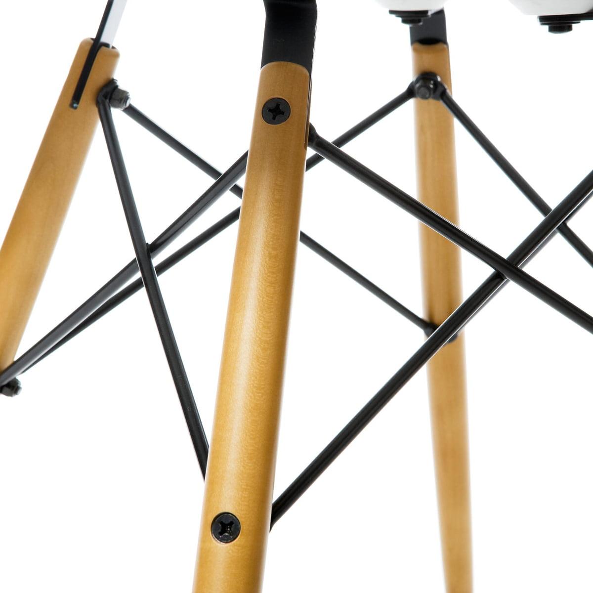 Eames Plastic Side Chair Dsw Stuhl eames plastic side chair dsw connox shop