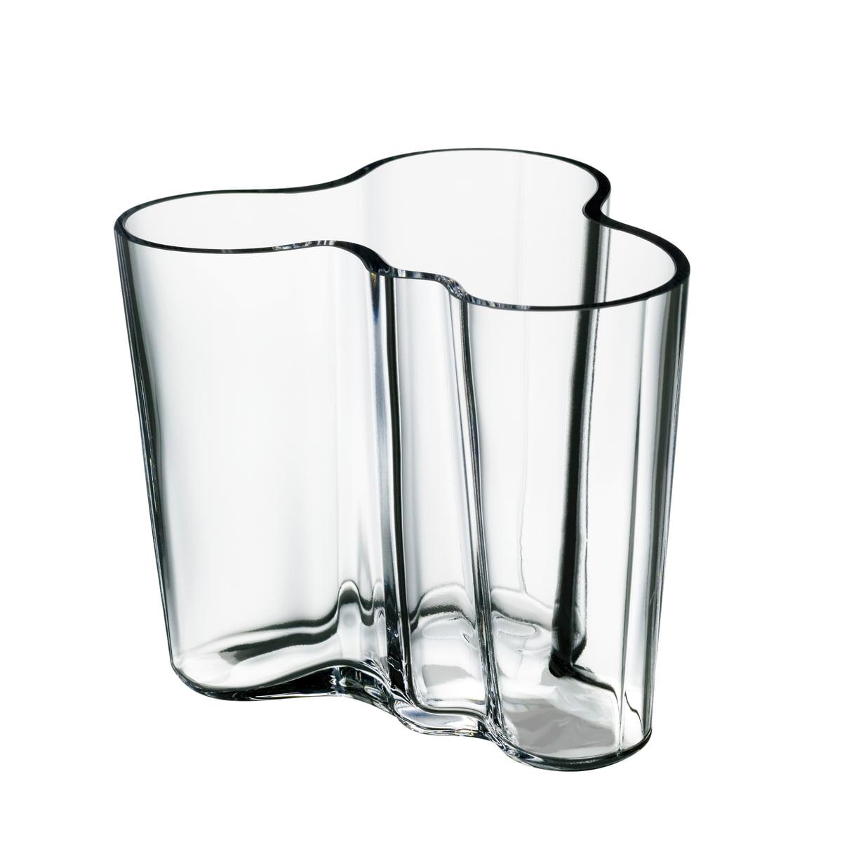 iittala aalto vase savoy clear 95 mm - Aalto Vase