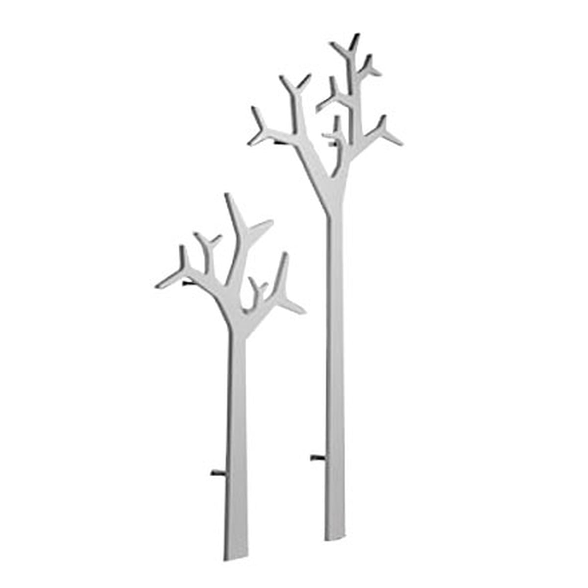 Swedese Tree Wall Mounting Coat Stand 134 Cm White