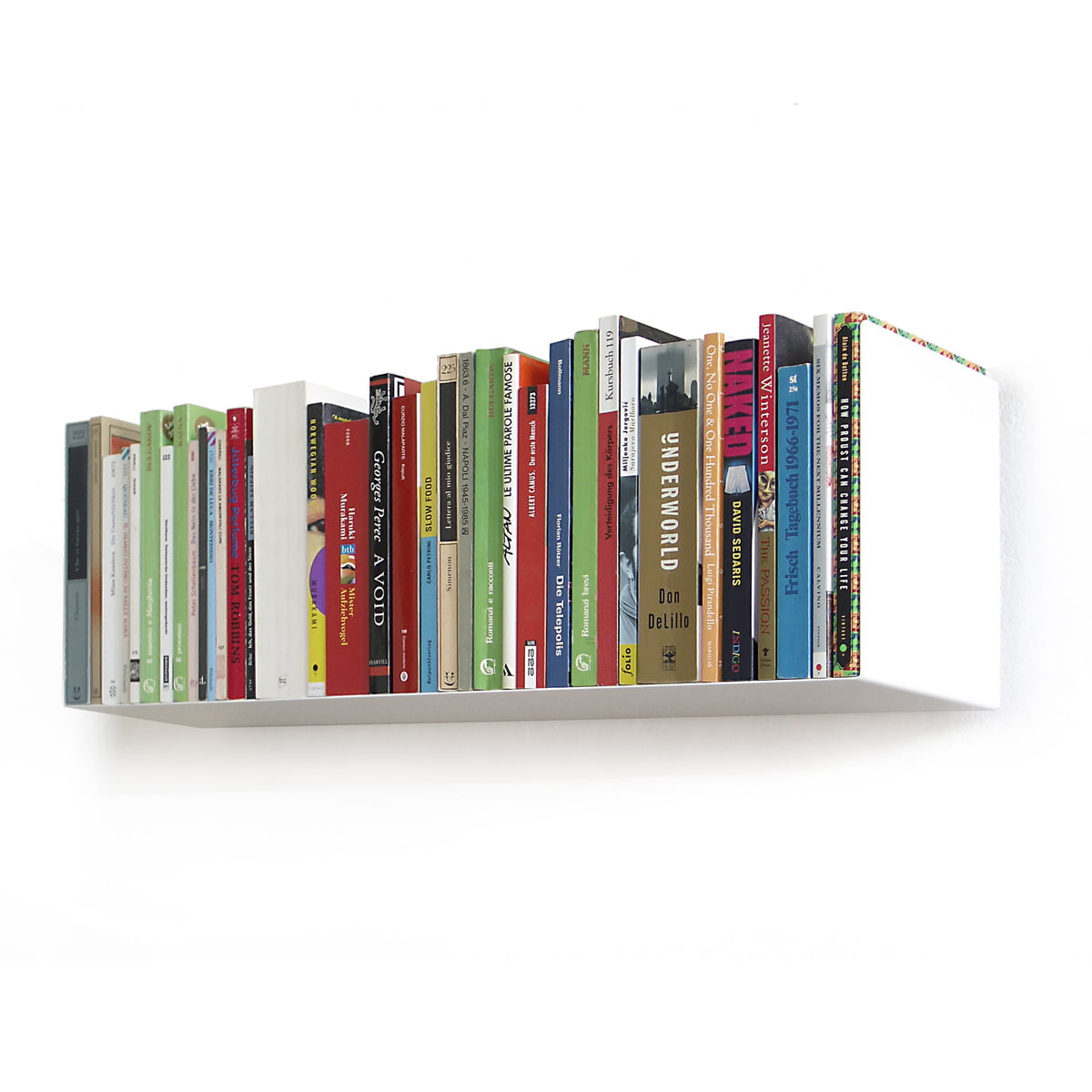 Awe Inspiring Linea1 Paperback And Dvd Shelf White Download Free Architecture Designs Embacsunscenecom