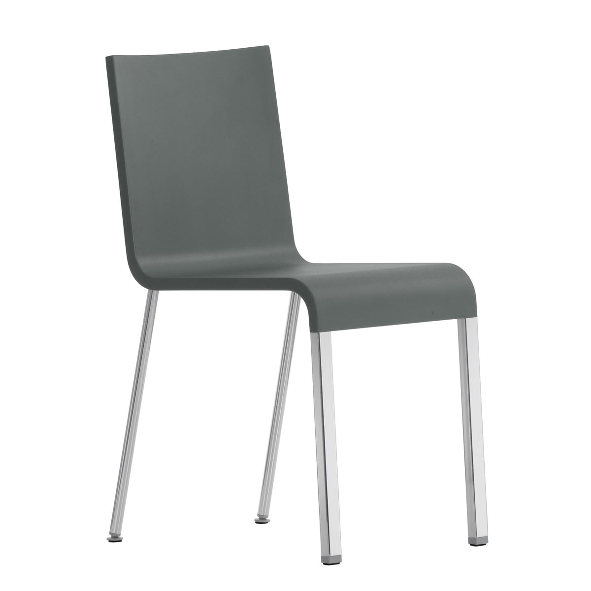 Vitra 03 Chair Not Stackable Silver Ral 9006 Grey