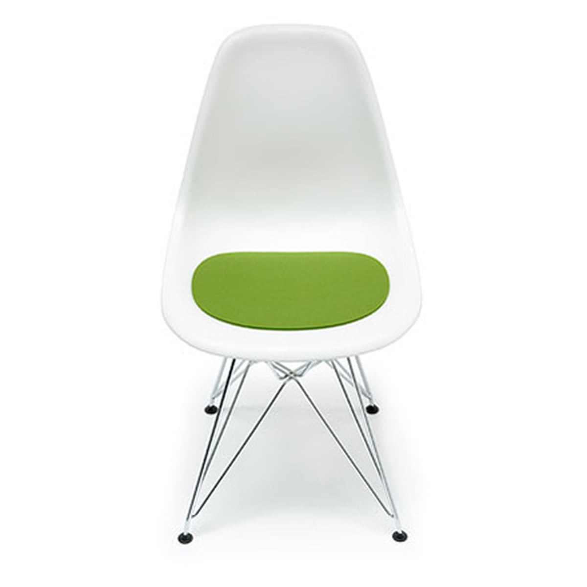 Felt Cushion Eames Plastic Side Chair Connox