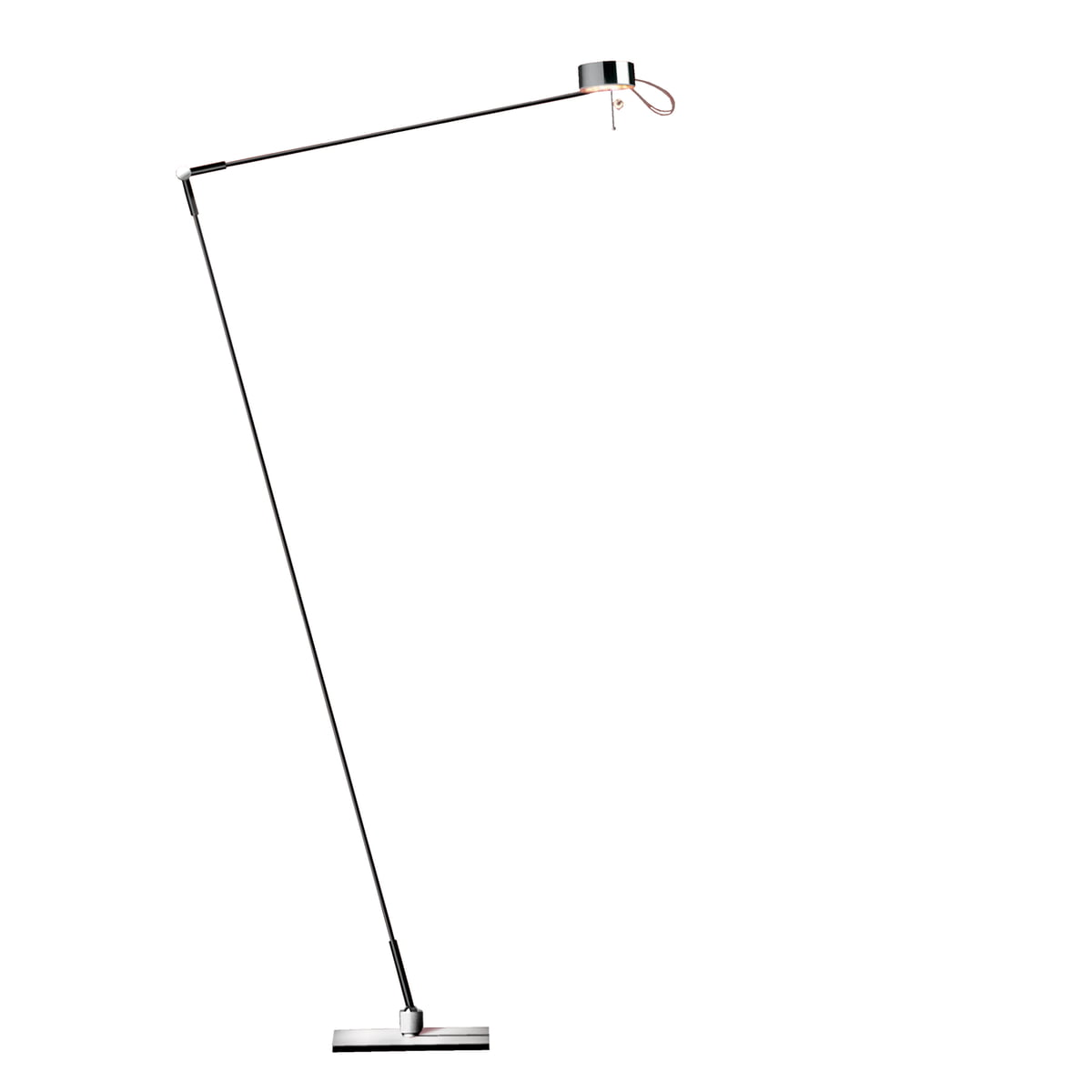 Floor and reading lamp by absolut lighting for Floor reading lamp with dimmer