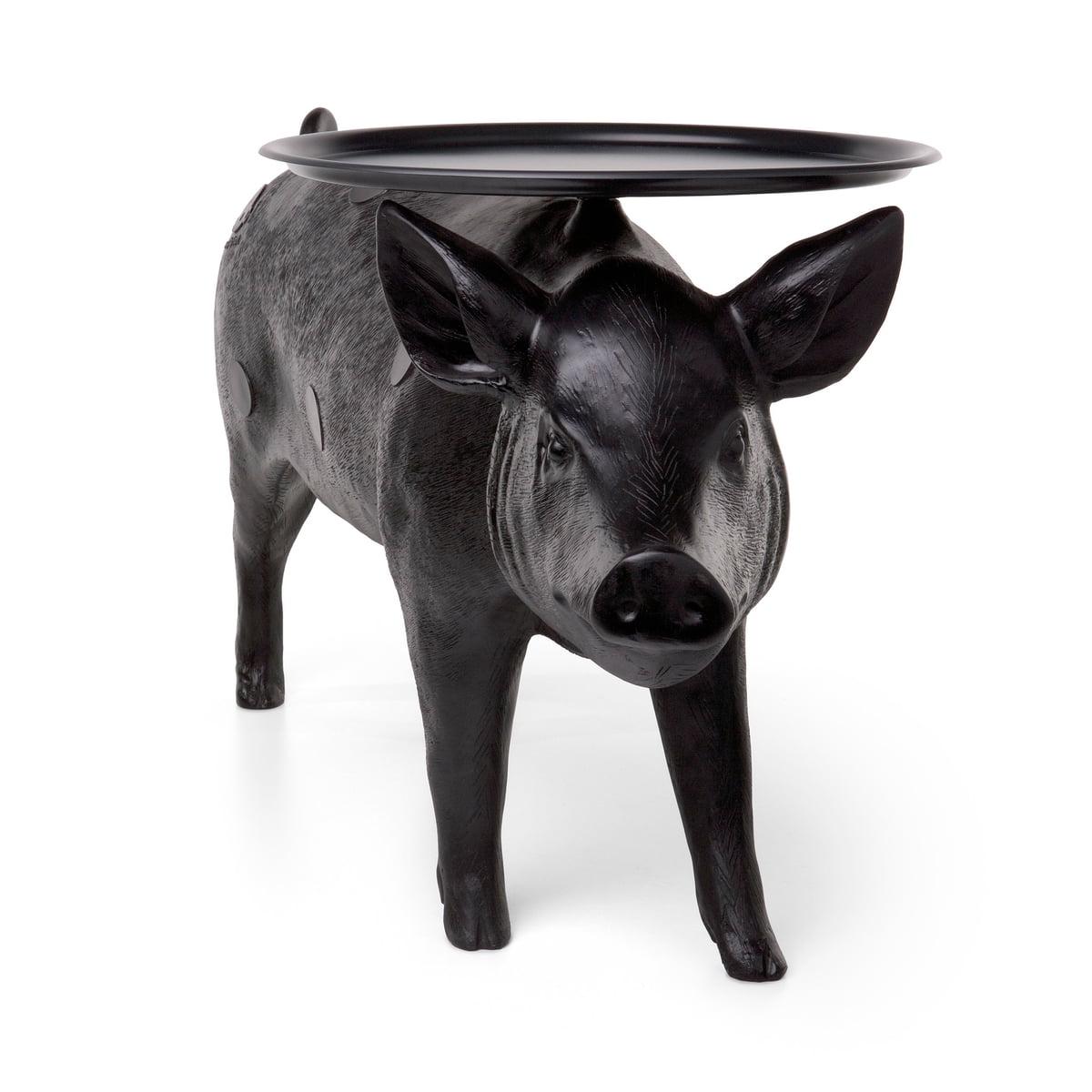 mooi furniture. Moooi - Pig Table, Black Mooi Furniture