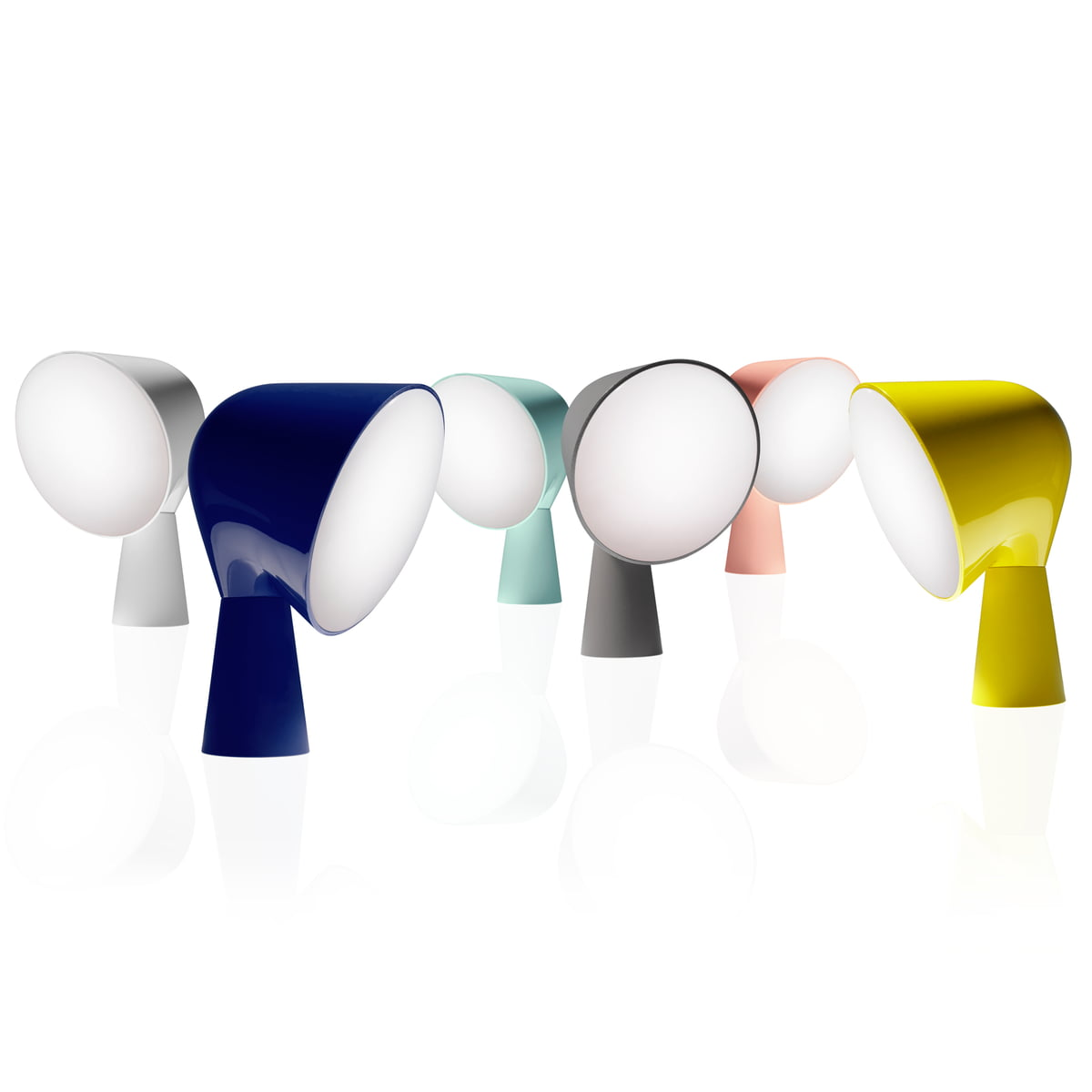 Binic table lamp by foscarini for Connox com