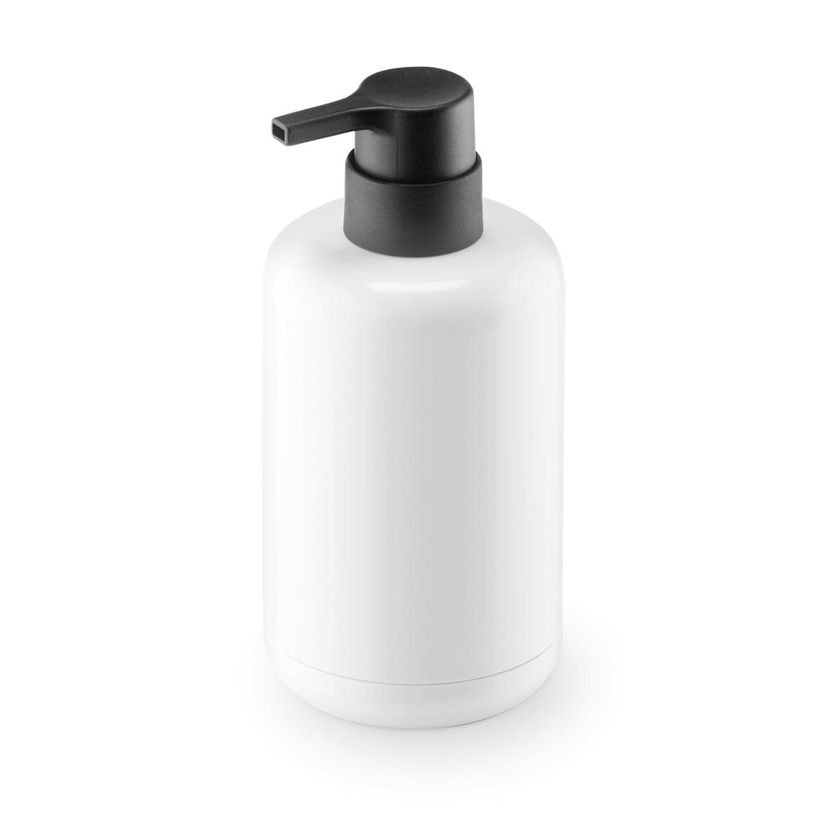 Lunar Soap Dispenser By Authentics In White Black