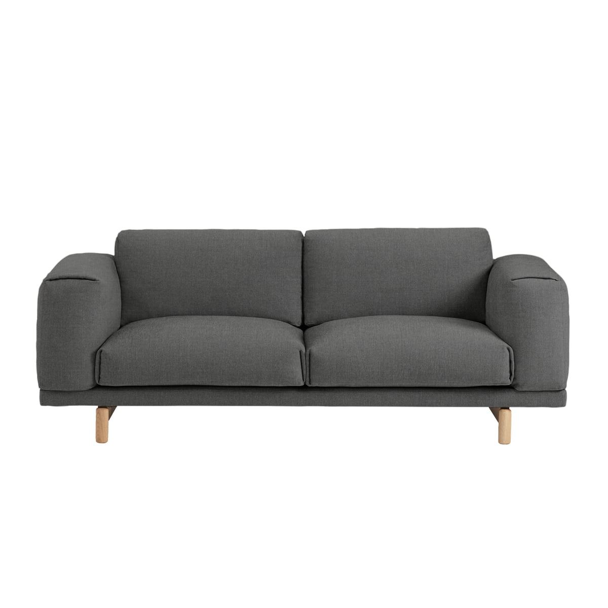 rest sofa 2 seater muuto connox shop. Black Bedroom Furniture Sets. Home Design Ideas