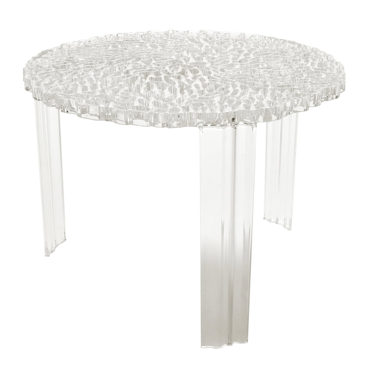 T table kartell shop for Table 70 cm hauteur