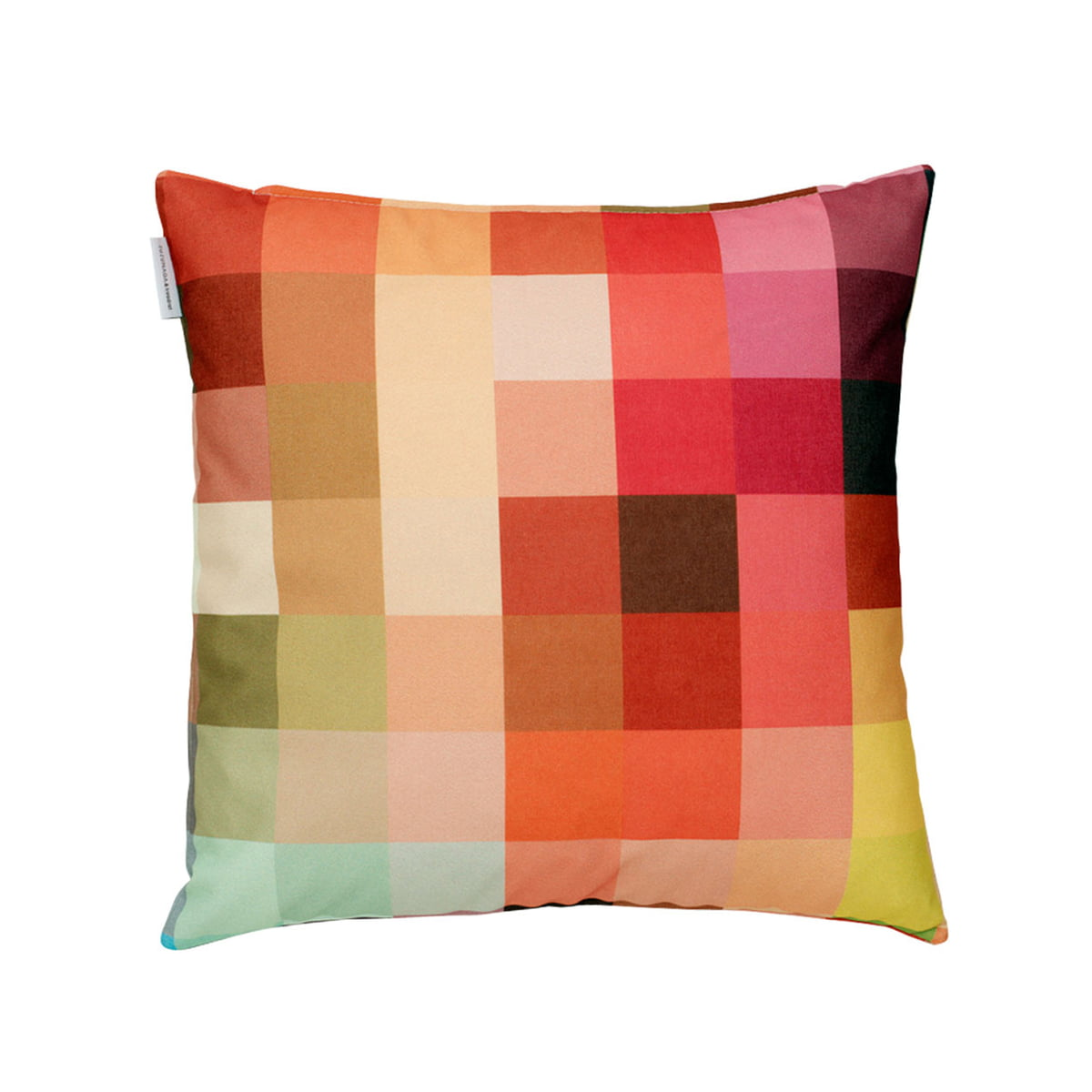 zuzunaga cushion squaring of the circle fire. Black Bedroom Furniture Sets. Home Design Ideas