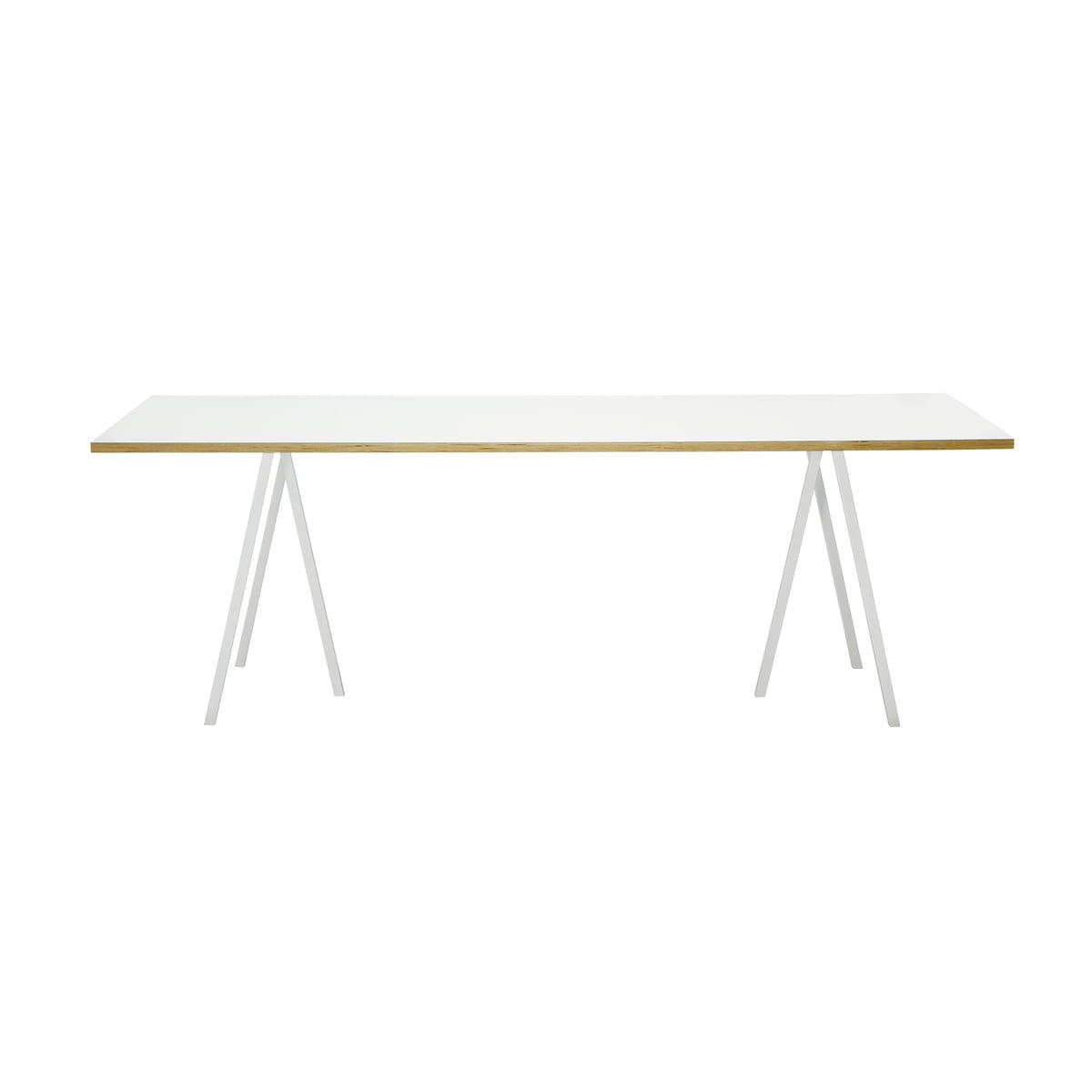 Hay Loop Stand Tafel.Hay Loop Stand Table 160 White