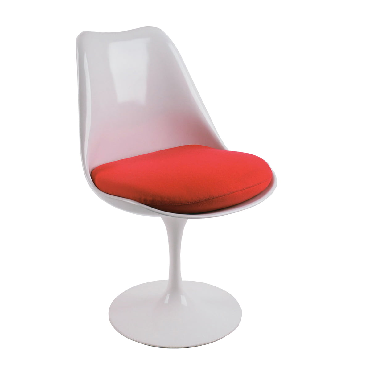 platinum chair eero tulip by fibreglass saarinen replica