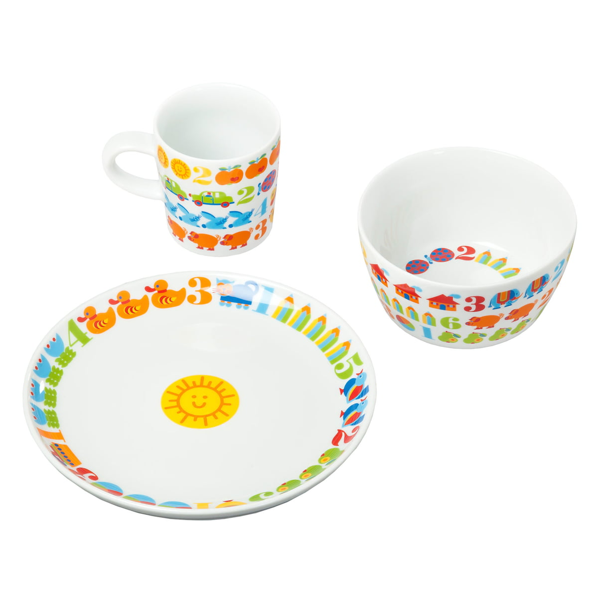 byGraziela - 123 Childrenu0027s Dishes  sc 1 st  Connox & Childrenu0027s Dishes 123 from byGraziela in the shop