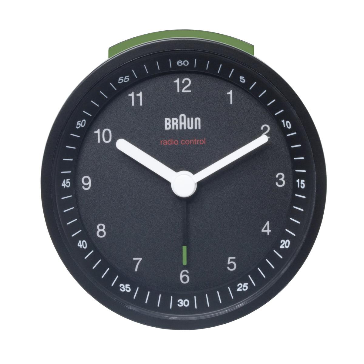 Radio controlled alarm clock bnc007 by braun braun radio controlled alarm clock bnc007 black amipublicfo Gallery