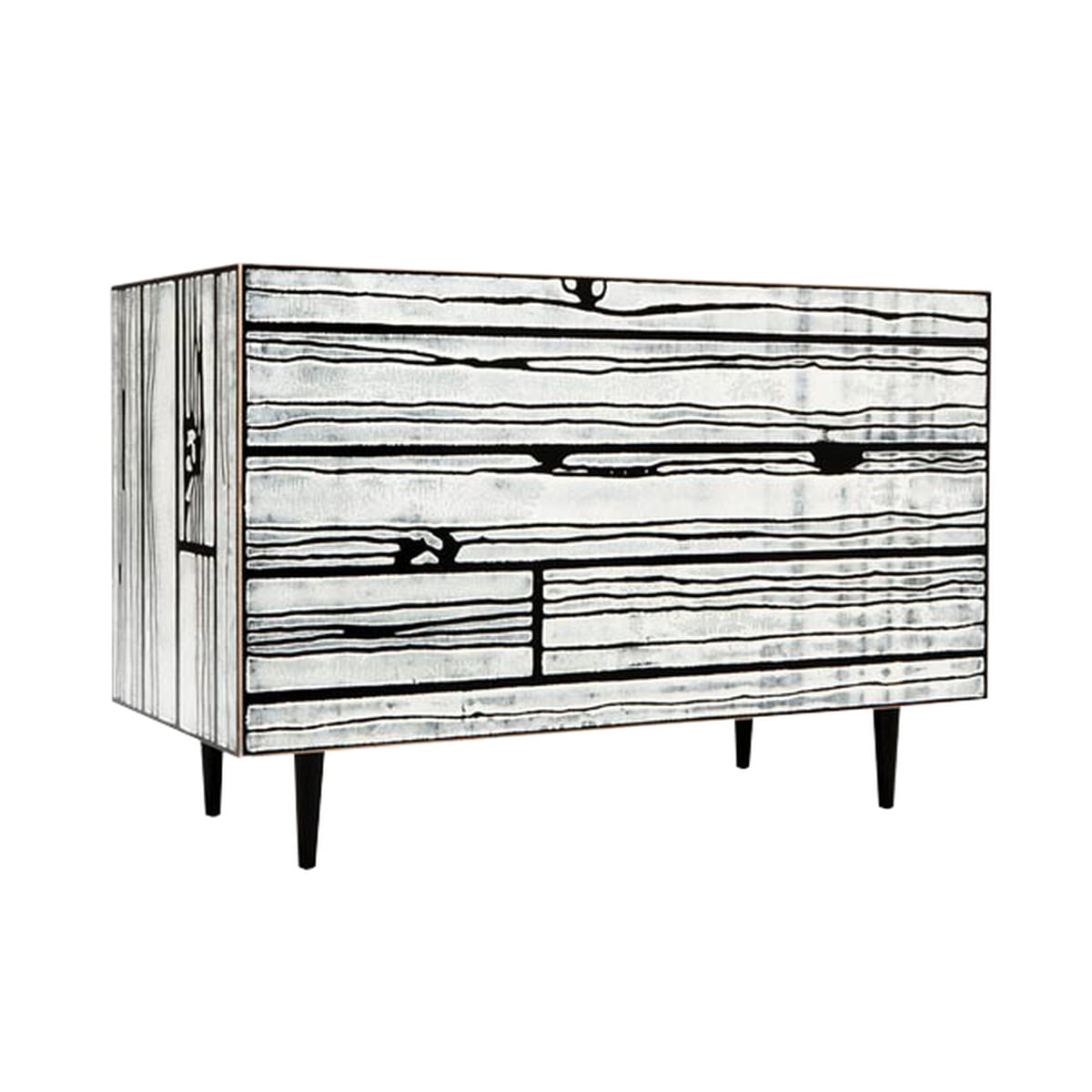 wrongwoods chest of drawers by established sons. Black Bedroom Furniture Sets. Home Design Ideas