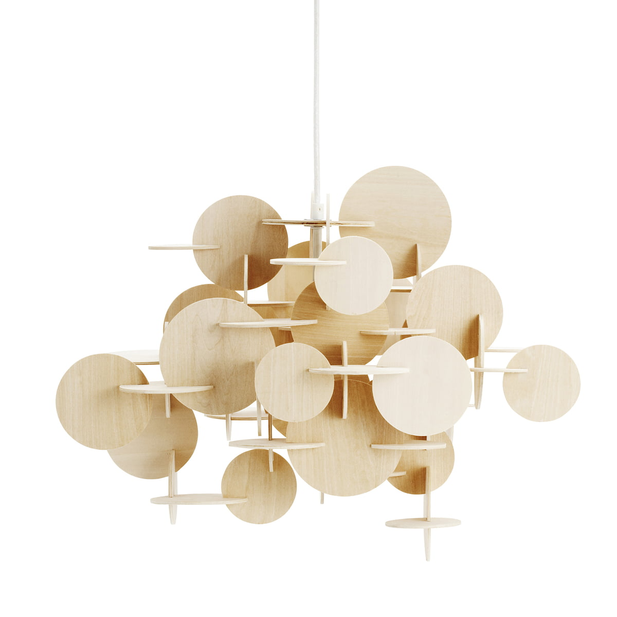 Normann Copenhagen Bau Pendant Lamp Pinewood Small