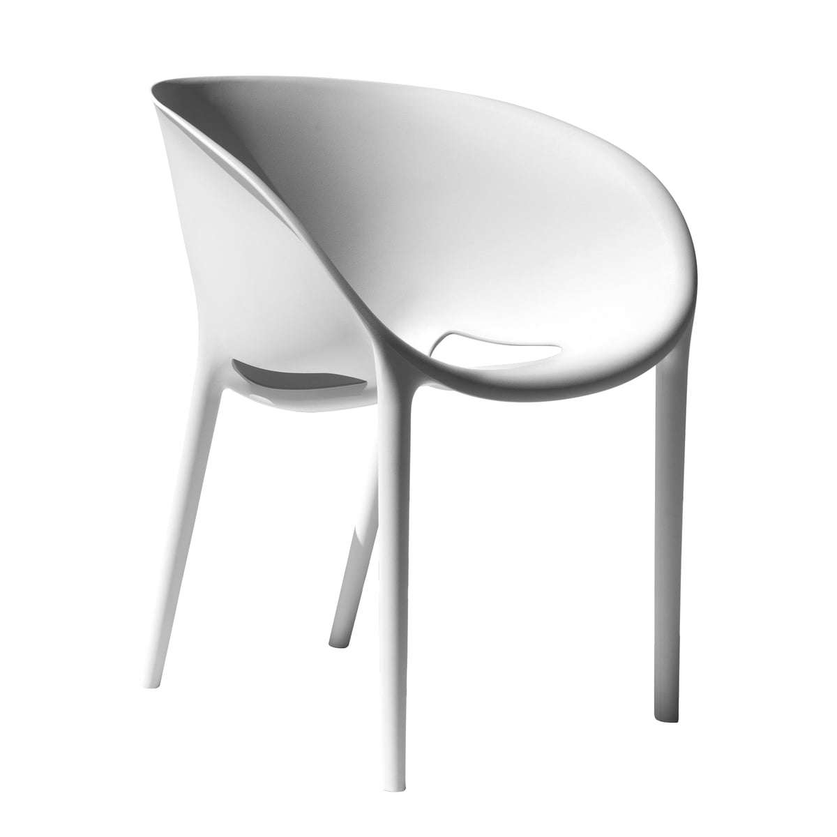 Soft Egg Chair White