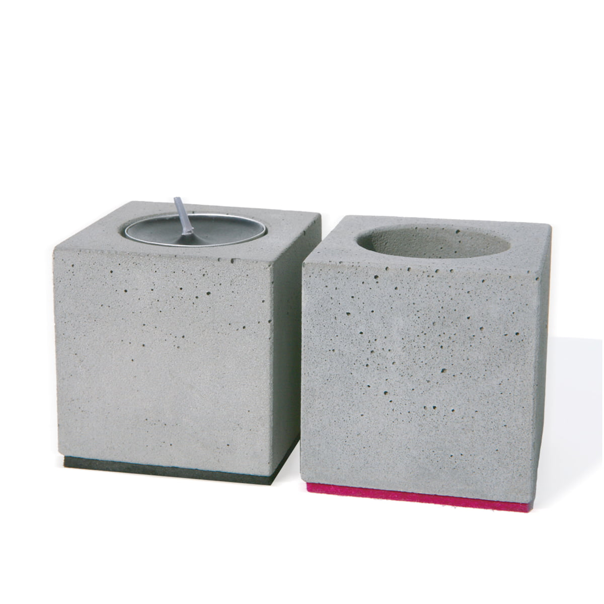 Korn Produkte the block votive candle holder by korn produkte in the shop