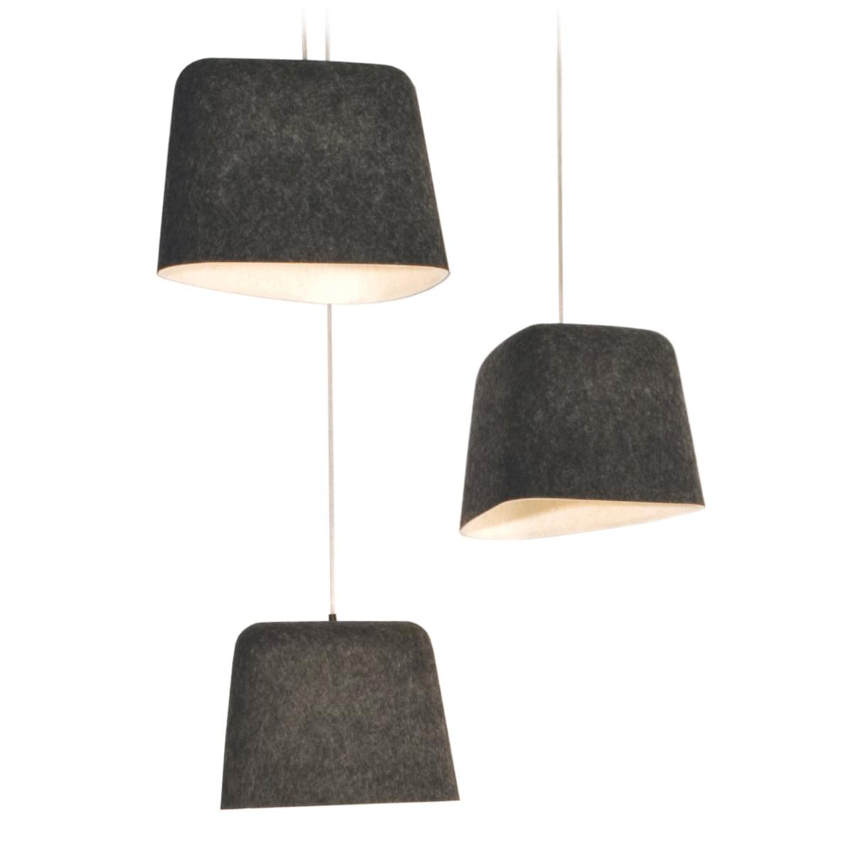Felt shade pendant lamp by tom dixon tom dixon felt shade pendant lamp aloadofball Images
