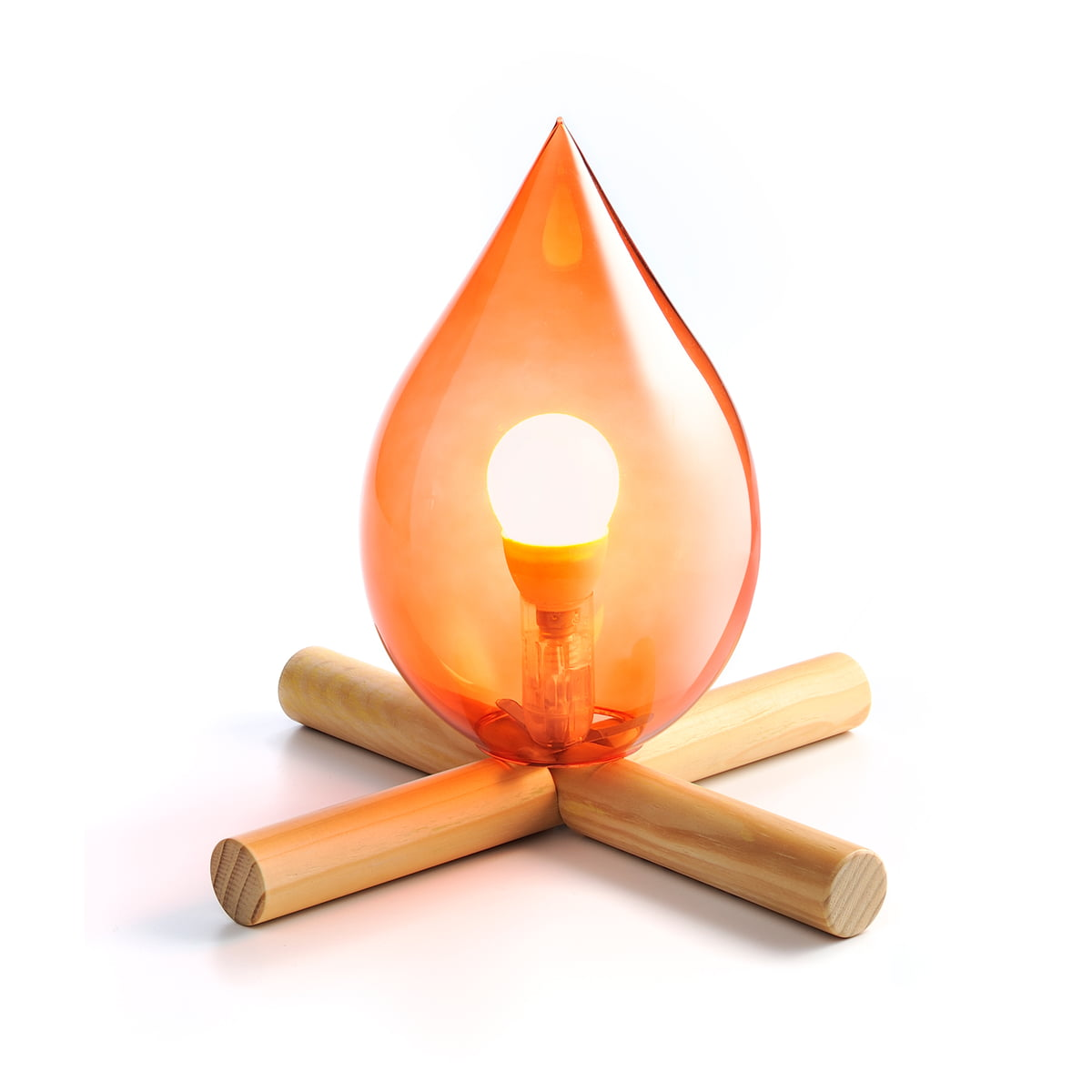 Good Skitsch   Fire Kit Ttable Lamp Design Ideas
