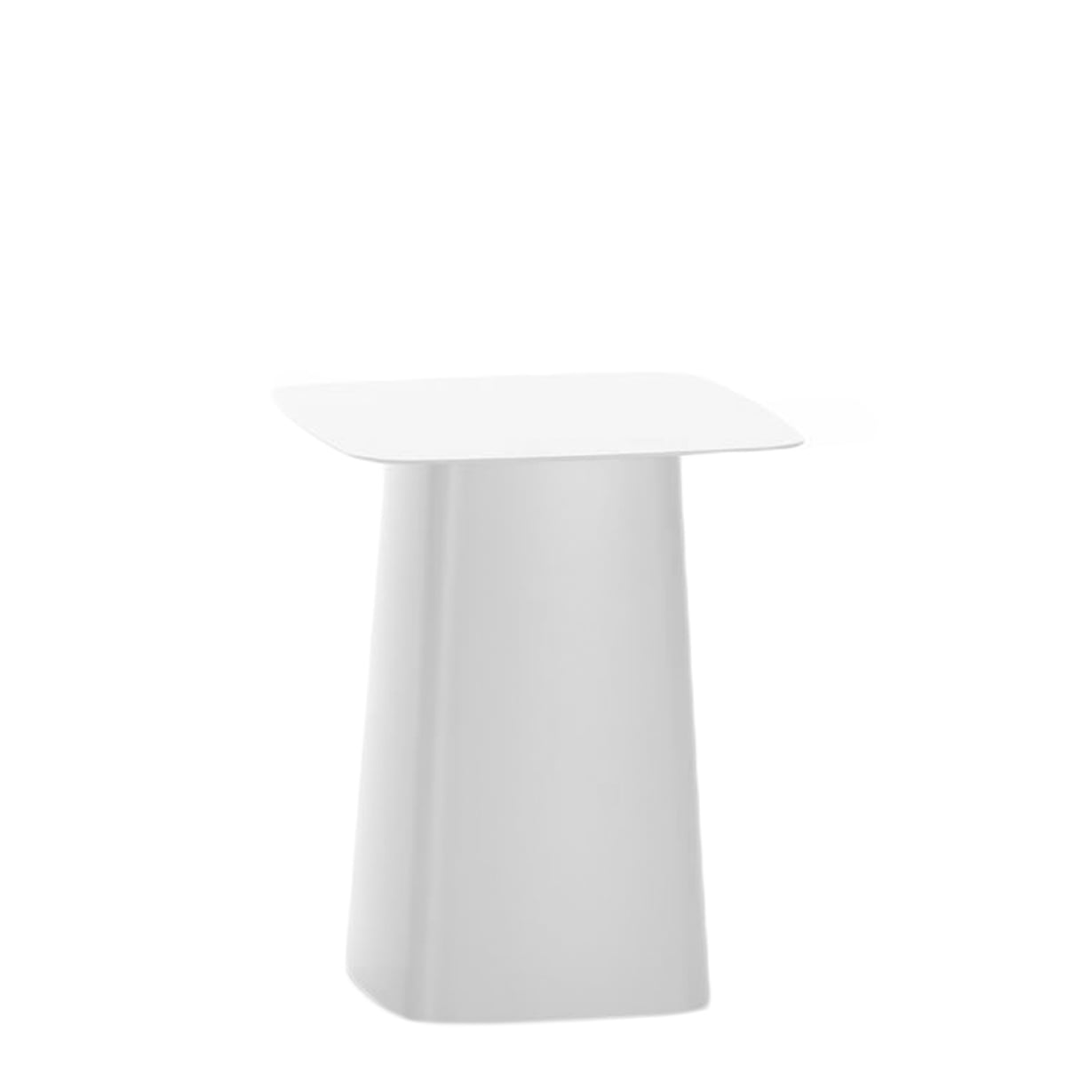 Vitra   Metal Side Table Outdoor, Small, Soft Light