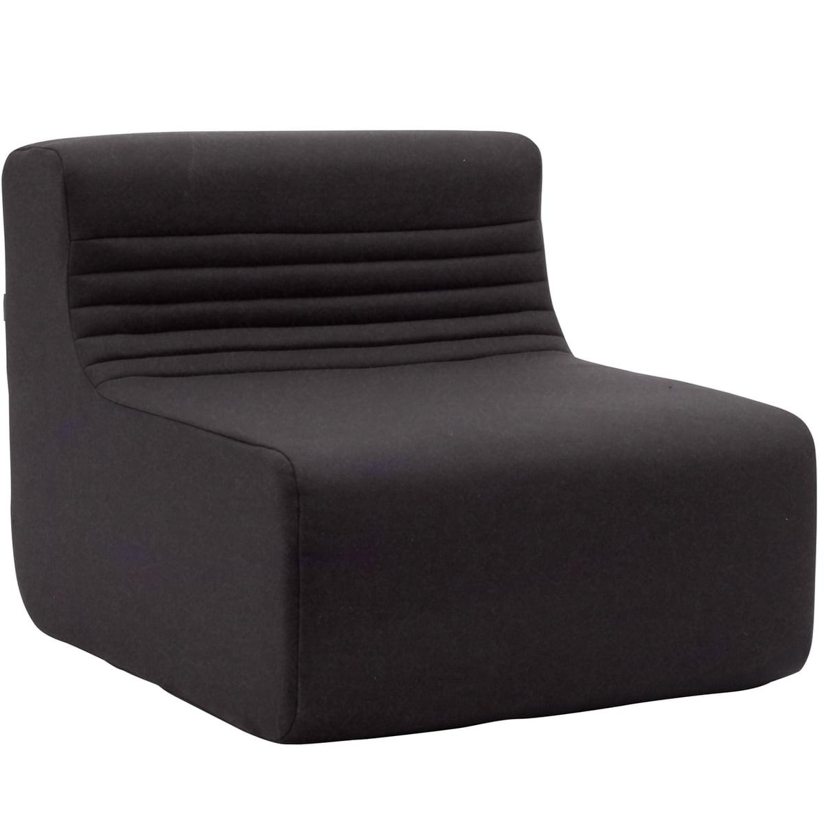 Beau Softline   Loft Indoor Modular Sofa, Single Unit, Felt Dark Grey