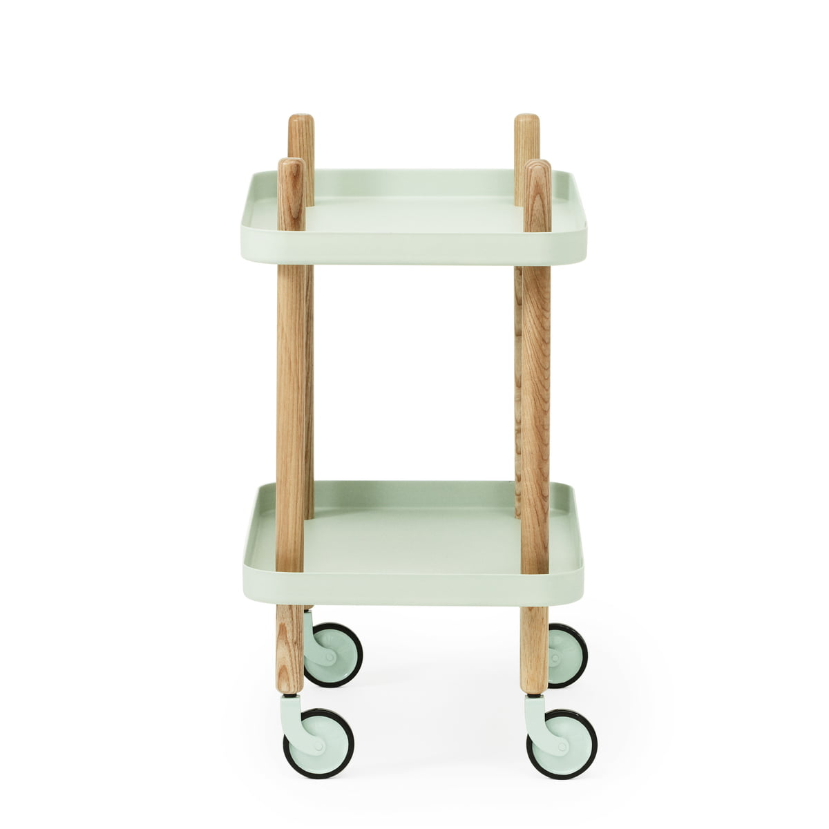 block table trolley by normann copenhagen connox shop. Black Bedroom Furniture Sets. Home Design Ideas