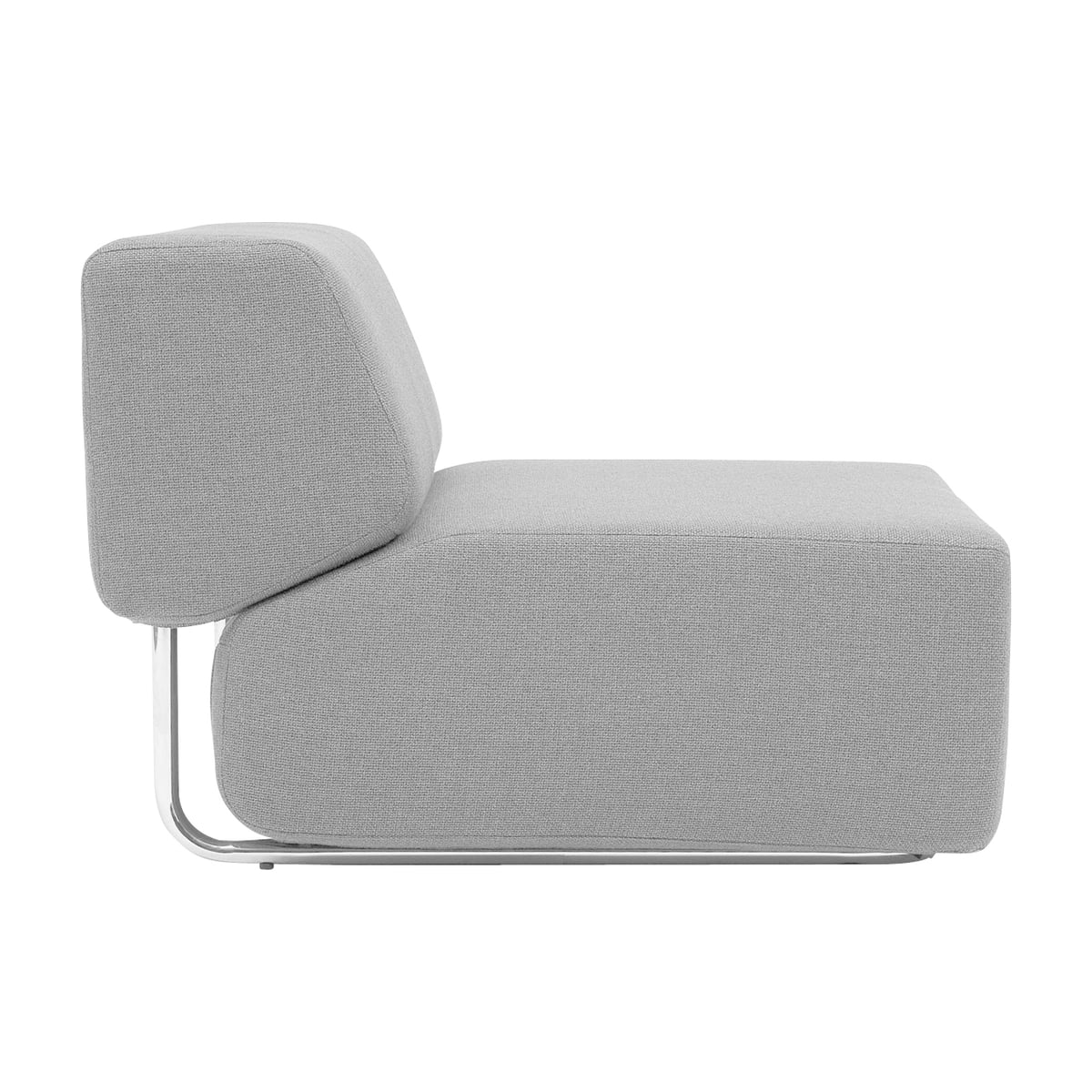 Softline   Noa Modular Sofa, Single Unit, Vision, Light Grey