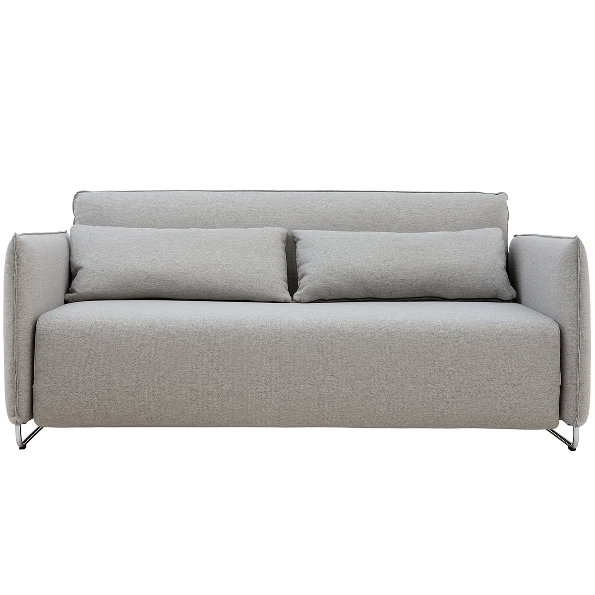 Prime Softline Cord Sofa Bed Felt Grey 620 Ocoug Best Dining Table And Chair Ideas Images Ocougorg
