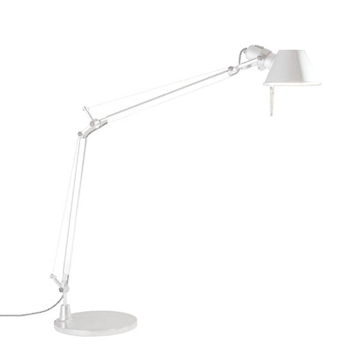 Artemide Tolomeo - (write) white table lamp - Artemide Tolomeo Desk Lamp
