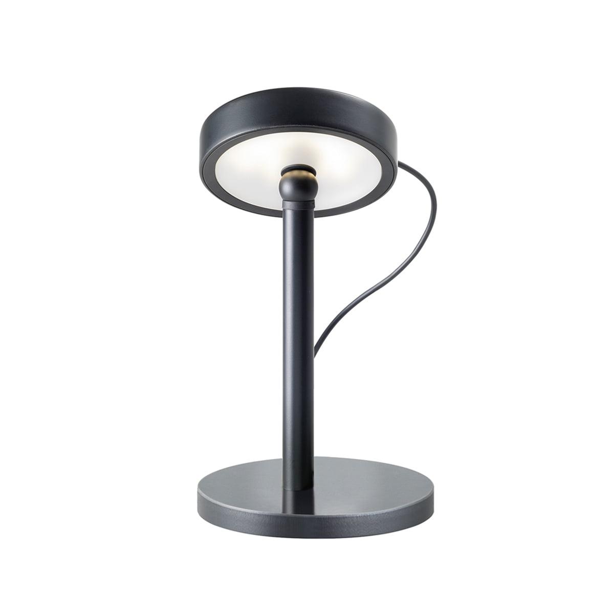 Belux U Turn Table Lamp Led Black