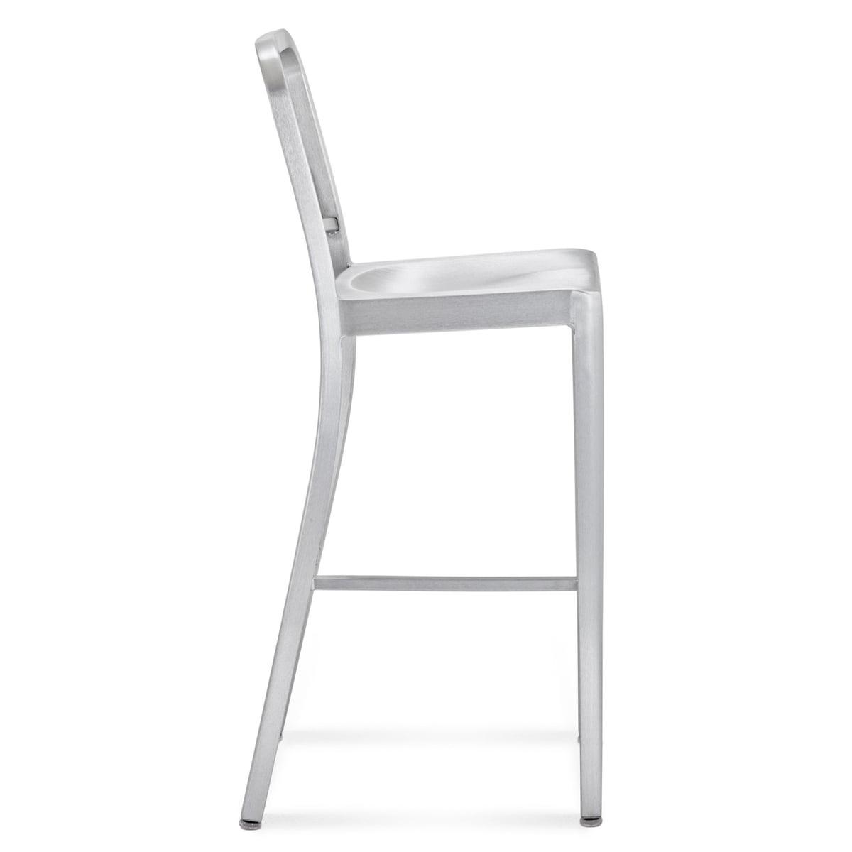 navy bar stool emeco shop. Black Bedroom Furniture Sets. Home Design Ideas