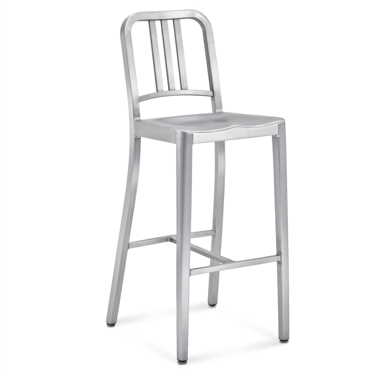 Navy Bar Stool Emeco Shop