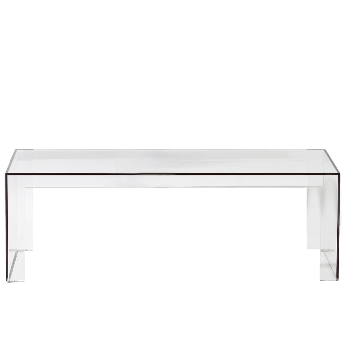 Invisible Side Kartell Shop - Kartell invisible coffee table