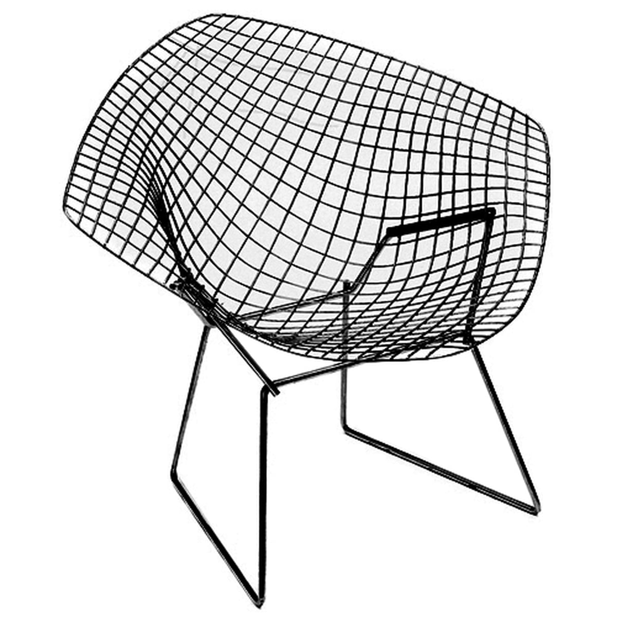 bertoia diamond outdoor armchair | knoll