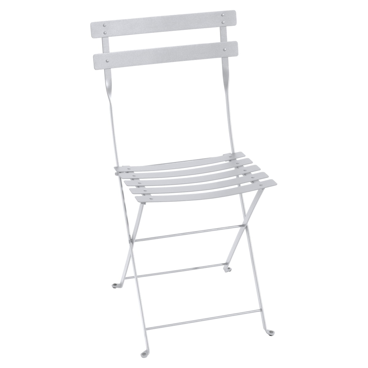 Beau Fermob   Bistro Folding Chair Metal, White