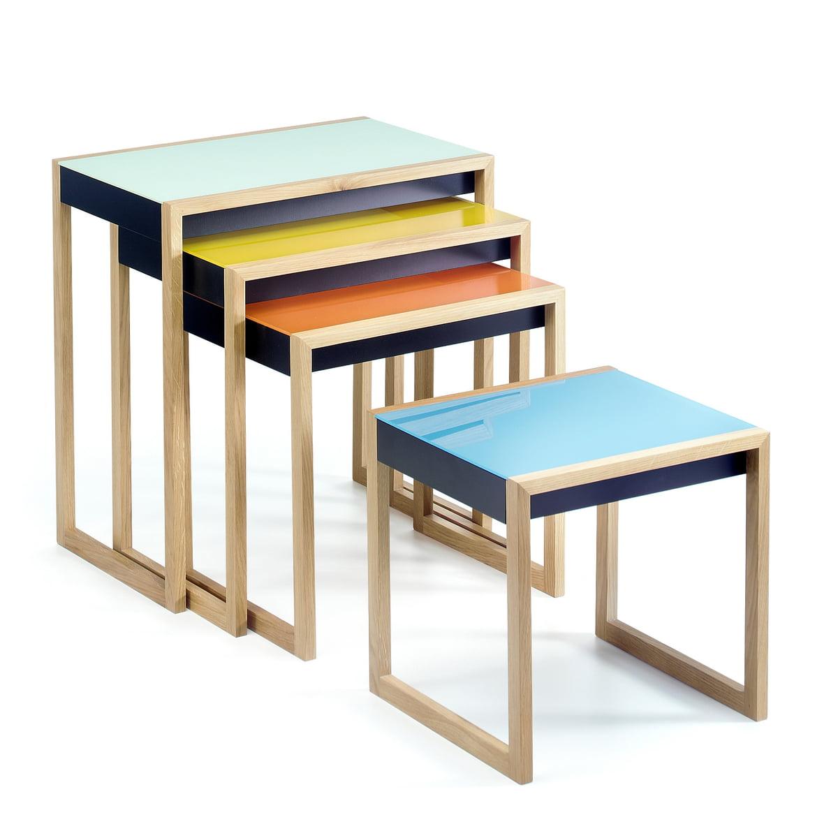 Josef Albers Nesting Tables Set Of 4